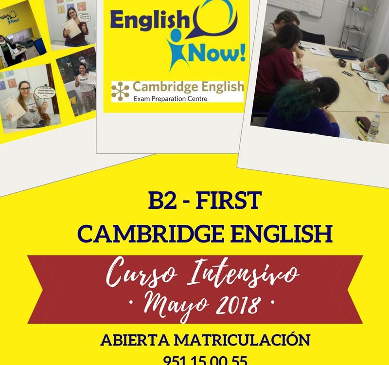 Curso Intensivo Málaga B2 First