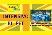Intensivo B1 PET Cambridge Abril 2018