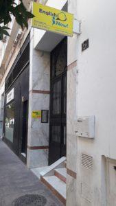 Contacto y Localización escuela de inglés en Málaga Centro